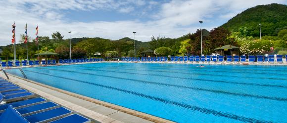 Piscine termali petrarca hotel petrarca terme - Dimensioni piscina olimpionica ...